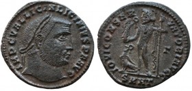 Licinius, 308-324 Follis Heraclea circa 313-314, Æ 22mm., 3,6.g