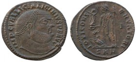 Licinius, 308-324 Follis Cyzicus circa 316-317, Æ 23mm., 3.5.g