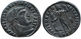 Constantine I, 307/310-337. Follis (Bronze, 23 mm, 3,6 g, 7 h), Heraclea, early 313.