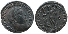 Constantine I, 307/310-337. Follis (Bronze, 23 mm, 3,5.g), Heraclea, early 313.