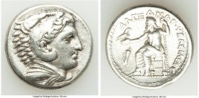 MACEDONIAN KINGDOM. Alexander III the Great (336-323 BC). AR tetradrachm (26mm, 17.08 gm, 11h). VF. Early posthumous issue of 'Amphipolis', by Antipat...