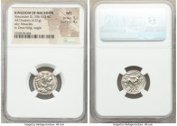 MACEDONIAN KINGDOM. Alexander III the Great (336-323 BC). AR drachm (17mm, 4.31 gm, 2h). NGC MS 5/5 - 4/5. Lifetime issue of Miletus, ca. 325-323 BC. ...