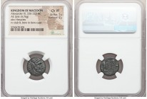 MACEDONIAN KINGDOM. Alexander III the Great (336-323 BC). AE unit (16mm, 4.76 gm, 6h). NGC Choice VF 5/5 - 2/5. Lifetime issue of uncertain mint in Ma...