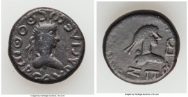 BOSPORAN KINGDOM. Thothorses (AD 285-309). BI stater (19mm, 7.31 gm, 12h). About Fine. Dated Bosporan Year 597 (AD 300/1). BACIΛЄwC ΘOΘwPCOV, draped, ...