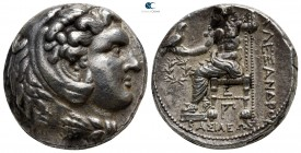 Kings of Macedon. Susa. Antigonos I Monophthalmos 320-301 BC. In the name and types of Alexander III. Struck under Aspesias, Satrap of Susiana, circa ...