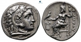 Kings of Macedon. Kolophon. Philip III Arrhidaeus 323-317 BC. In the type of Alexander III. Drachm AR