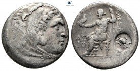 "Kings of Macedon. Aspendos. Alexander III ""the Great"" 336-323 BC. In Name and types of Alexander III the Great of Macedon. Dated Civic Year 19 (circa ..."