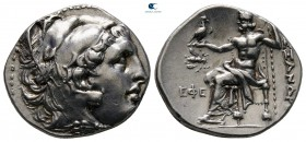 "Kings of Macedon. Ephesos. Alexander III ""the Great"" 336-323 BC. Struck under Lysimachos, circa 300 BC. Drachm AR"
