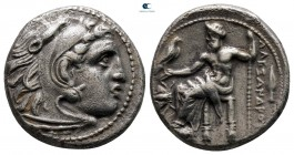 "Kings of Macedon. Magnesia ad Maeandrum. Alexander III ""the Great"" 336-323 BC. Struck under Philip III Arrhidaios, circa 323-319 BC. Drachm AR"