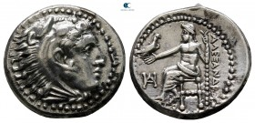 "Kings of Macedon. Miletos. Alexander III ""the Great"" 336-323 BC. Struck under Philoxenos, circa 325-323 BC. Drachm AR"