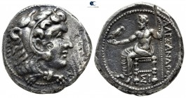 "Kings of Macedon. Sidon. Alexander III ""the Great"" 336-323 BC. Undated issue, struck under Menon or Menes, circa 332/1-324/3 BC. Tetradrachm AR"