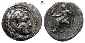 "Kings of Macedon. Uncertain mint. Alexander III ""the Great"" 336-323 BC. Hemidrachm AR"