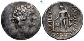 Islands off Thrace. Thasos after 148 BC. Tetradrachm AR