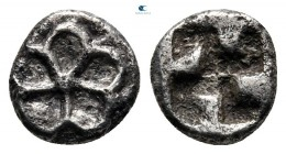 Asia Minor. Uncertain mint circa 530-480 BC. Hemiobol AR