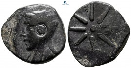 Pontos. Uncertain mint. Time of Mithradates VI Eupator 130-100 BC. Bronze Æ
