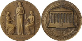 Important 1949 Assay Commission Medal