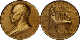 Superb 1955 Assay Commission Medal Rarity