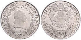 FRANCIS II / I (1972 - 1806 - 1835) 
