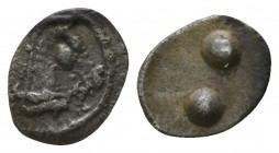 Sicily. Gela 480-475 BC. Hexas of Dionkion AR