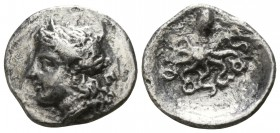 Sicily. Syracuse. Timoleon and the Third Democracy 344-317 BC. Litra AR