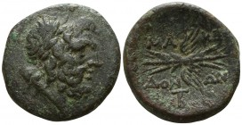 Kings of Macedon. District Bottiaia. Pella.. Time of Philip V - Perseus 187-167 BC. Bronze Æ