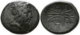 Kings of Macedon. Pella. District Bottiaia.. Time of Philip V - Perseus 187-167 BC. Bronze Æ