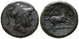Kings of Macedon. Uncertain mint. Time of Philip V - Perseus 187-167 BC. Bronze Æ