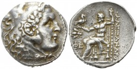 Kings of Thrace. Ephesos. Lysimachos 305-281 BC. Tetradrachm AR