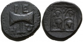 Kings of Thrace. Uncertain mint. Teres II 356-342 BC. Bronze Æ