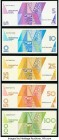 Aruba Centrale Bank van Aruba Group Lot of 5 Examples Crisp Uncirculated.   HID09801242017  © 2020 Heritage Auctions | All Rights Reserve