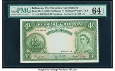 Bahamas Bahamas Government 4 Shillings 1936 (1953 Issue) Pick 13d PMG Choice Uncirculated 64 EPQ.   HID09801242017  © 2020 Heritage Auctions | All Rig...