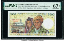 Comoros Banque Centrale Des Comores 5000 Francs ND (1984) Pick 12a PMG Superb Gem Unc 67 EPQ.   HID09801242017  © 2020 Heritage Auctions | All Rights ...
