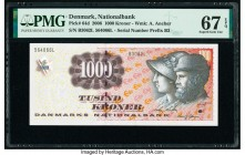 Denmark National Bank 1000 Kroner 2006 Pick 64d PMG Superb Gem Unc 67 EPQ.   HID09801242017  © 2020 Heritage Auctions | All Rights Reserve