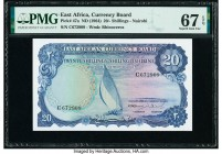 East Africa East African Currency Board 20 Shillings ND (1964) Pick 47a PMG Superb Gem Unc 67 EPQ.   HID09801242017  © 2020 Heritage Auctions | All Ri...