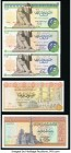 Egypt Central Bank of Egypt Group Lot of 10 Examples Crisp Uncirculated.   HID09801242017  © 2020 Heritage Auctions | All Rights Reserve