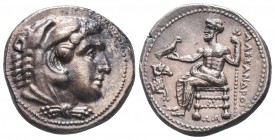 Greek, Kings of Macedon, Alexander III the Great 336-232 BC, Ar Tetradrachm.  Condition: Very Fine  Weight: 17.20 gr Diameter: 25 mm