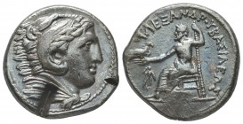 Greek, Kings of Macedon, Alexander III the Great 336-232 BC, Ar Tetradrachm.  Condition: Very Fine  Weight: 17.20 gr Diameter: 26 mm