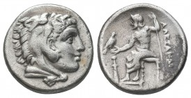 Greek, Kings of Macedon, Alexander III the Great 336-232 BC, Ar Drachm.  Condition: Very Fine  Weight: 4.20 gr Diameter: 16 mm
