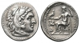 Greek, Kings of Macedon, Alexander III the Great 336-232 BC, Ar Drachm.  Condition: Very Fine  Weight: 4.30 gr Diameter: 18 mm