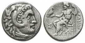 Greek, Kings of Macedon, Alexander III the Great 336-232 BC, Ar Drachm, Condition: Very Fine  Weight: 4 gr Diameter: 16 mm