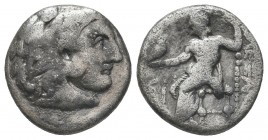 Greek, Kings of Macedon, Alexander III the Great 336-232 BC, Ar Drachm.  Condition: Very Fine  Weight: 3.30 gr Diameter: 16 mm