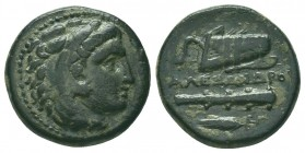 Greek, Kings of Macedon, Alexander III the Great 336-232 BC, Ae  Condition: Very Fine  Weight: 5.60 gr Diameter: 18 mm