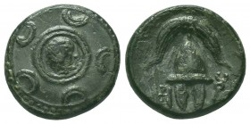 Greek, Kings of Macedon, Alexander III the Great 336-232 BC, Ae  Condition: Very Fine  Weight: 3.80 gr Diameter: 16 mm