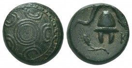 Greek, Kings of Macedon, Alexander III the Great 336-232 BC, Ae  Condition: Very Fine  Weight: 4.50 gr Diameter: 14 mm
