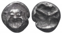 MACEDON, Neapolis. Circa 500-480 BC. AR   Condition: Very Fine  Weight: 3.80 gr Diameter: 14 mm
