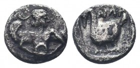 Cilicia, Mallos AR Obol. Circa 440-390 BC.  Condition: Very Fine  Weight: 0.50 gr Diameter: 8 mm