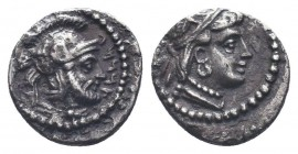 Cilicia, Satraps, AR Obol, 4th century BCCondition: Very Fine  Weight: 0.50 gr Diameter: 9 mm