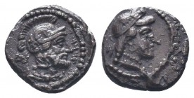 Cilicia, Satraps, AR Obol, 4th century BCCondition: Very Fine  Weight: 0.80 gr Diameter: 10 mm