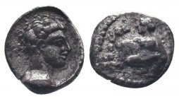 Cilicia, Satraps, AR Obol, 4th century BC Condition: Very Fine  Weight: 0.90 gr Diameter: 9 mm