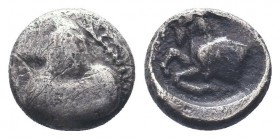 Cilicia, Satraps, AR Obol, 4th century BC  Condition: Very Fine  Weight: 0.70 gr Diameter: 80 mm